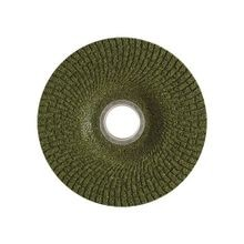 CGW® Green Grind 49544 Premium Depressed Center Wheel, 4-1/2 in Dia x 5/32 in THK, 5/8-11, 36 Grit, Zirconia Alumina Abrasive