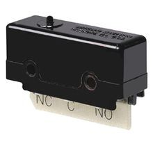 SELECTA® MICRO SWITCH™ DT Double Throw Micro Standard Basic Switch, 10 A at 28 VDC, DPDT, 2 Poles