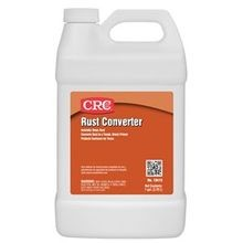 CRC® 18419 Rust Converter, 1 gal, Liquid, Cream White