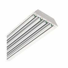Philips Lighting Stonco® T-Bay II Narrow Low Bay Fixture, 4 Linear Fluorescent Lamp, 120/277 VAC