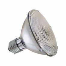 GE 75PAR30/H/FL120V Flood Halogen Lamp, 75 W, Halogen Lamp, E26 Medium Screw Lamp Base, PAR30 Shape, 1030 Lumens