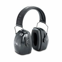 Honeywell Leightning® 1010924 Headband Earmuff, 105 dB to 110 dB Noise Reduction, Black, Steel