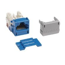 CommScope GigaSPEED XL® SYSTIMAX® MGS400 IDC Termination Modular Keystone Jack, UTP Cable, Cat 6