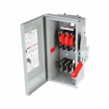 Siemens SpeedFax™ HF361NR Enclosed Fusible Low Voltage Heavy Duty Safety Switch With Neutral, 600 VAC/VDC, 30 A, 7.5 hp, TPST Contact Form, 3 Poles