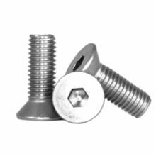 BBI 212097 Flat Socket Cap Screw, 5/16-18, 1 in OAL, Stainless Steel, A2 (18-8)