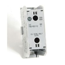 1492 Enclosed Power Distribution Block, 1-Pole, Aluminum, 1 Opening Line Side, 1 Opening Load Side, 200 Amps