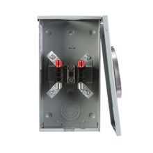 Siemens SR100R Type SR Automatic Transfer Switch, 120/240 VAC, 100 A, 1 Phase, NEMA 3R Enclosure