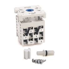 IEC Control and Load Switch, Step 1-2-3-4-5-6 60°, 12 Amp, 1 Pole, Front / Door