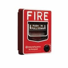 Honeywell Fire Lite® BG-12 Dual Action Pull Station With Key Lock, 30 VAC/VDC, 0.25 A, Polycarbonate