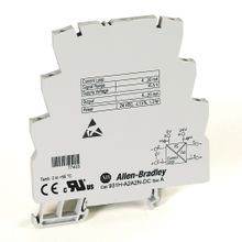Bulletin 931 Signal Conditioner, 931H-A2A2N-DC : Active Isolator, 3 Way