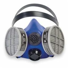 Honeywell Safety SURVIVAIR BLUE 1® S Reusable Half Mask Respirator With Speaking Diaphragm, S, Rear Split Headstrap