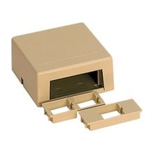 SpeedStar™ STAR558-52 Surface Mount Box, Voice/Data/Fiber/Video/Audio Module, For Use With All SpeedStar™ Connectors