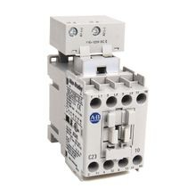 100-C IEC Contactor, 220-250V DC Electronic Coil, Screw Terminals, Line Side, 23A, 1 N.O. 0 N.C. Auxiliary Contact Configuration, Single Pack