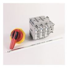 194R Fused and Non-Fused Disconnected Switches, Kitted, Non-Fused IEC/UL, 30 A, 3 Pole194R-PY Standard Red/Yellow Handle 3/3R/4/4X/12, S1 Shaft (12 in)