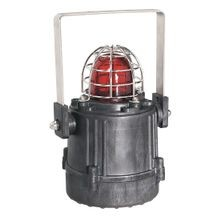 855XB Hazardous Location Beacon, Black Base, 1/2 Inch NPT Conduit Entrance, 115V AC, Xenon, 5 J / 1 Hz, Amber