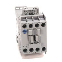 100L IEC Electrically Held Lighting Contactor, Open, 4 Pole, 110V 50Hz / 120V 60Hz