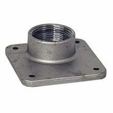 Milbank® A7515 Meter Socket Hub, 1-1/4 in NPT, For Use With Small RL Opening Meter Socket, Aluminum, Painted