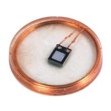 56RF, 57RF Radio Frequency Identification (RFID), 128 Byte Memory Size, Disc Tag, SLI, 9.5 mm diameter