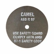 CGW® 35512 Type 1 High Speed Reinforced Straight Cut-Off Wheel, 4 in Dia x 1/8 in THK, 3/8 in, 24R Grit, Aluminum Oxide Abrasive