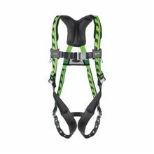 Miller® by Honeywell AirCore™ AC-TB/UGN Stretchable Harness, Universal, 400 lb, Green, Polyester Strap