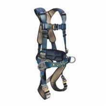 3M DBI-SALA Fall Protection 1110151 ExoFit™ XP Multi-Purpose Harness With Sewn In Back Pad and Belt, M, 420 lb, Blue/Gray, Polyester Strap