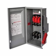 Siemens SpeedFax™ HF362R Enclosed Fusible Low Voltage Heavy Duty Safety Switch, 600 VAC/VDC, 60 A, 15/25 hp, TPST Contact Form, 3 Poles