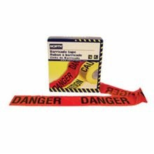 Honeywell Safety CT3RE9 Barricade Tape, DANGER, 3 in W x 1000 ft L, Red/Black, Polyethylene