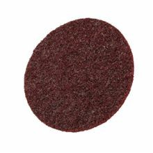 Scotch-Brite™ Hookit™ 048011-14100 SC-DH Surface Conditioning Disc, 4-1/2 in Dia, No Hole, Medium, Aluminum Oxide Abrasive, Hook and Loop