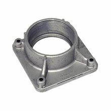Milbank® A8110 Meter Socket Hub, 3 in NPT, For Use With Large R Opening Meter Socket, Aluminum, Painted