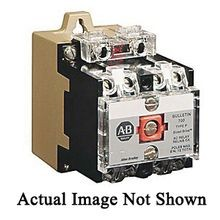 Allen-Bradley 700-P401A1 Heavy Duty Control Relay, 10 A, 4NO-0NC Contact Form, 110/115 to 120 VAC Coil