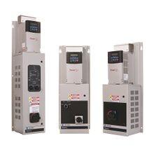 PowerFlex 400, Fan & Pump Drive. 480 VAC, 3 PH. 52 Amps. 40 HP. IP54 / Type 12. Fixed Keypad. RS485. Main Input Fused Disconnect