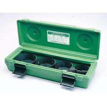 Greenlee® 834 Hole Saw Kit, 5 Pieces, For Use With 2-1/2 to 4 in Conduit, Bi-Metal