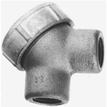 Crouse-Hinds Condulet® SLB2 Service Entrance Elbow With Cover, Gasket,) 3/4 in Hub, Die Cast Copper Free Aluminum, Epoxy Powder Painted