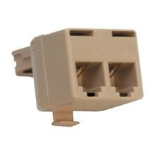 Suttle® 267 Inline T-Adapter, 140 VDC, Ivory
