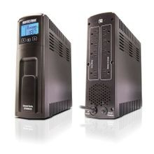 Minuteman® Entrust LCD® Line Interactive Back UPS System, 95 to 140 VAC Input, 104 to 140 VAC Output, 420 W/700 VA