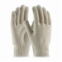 PIP® 35-C510/S Extra Heavy Weight Knit Gloves, S, Natural, Full Finger/Seamless Knit, 7 ga Cotton/Polyester