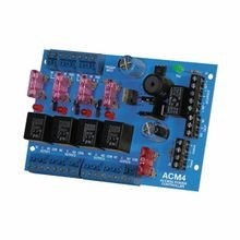 Altronix® ACM4 Access Power Controller Module, 12 to 24 VAC/VDC Input, 12 to 24 VAC/VDC Output, 0.4 A/0.2 A