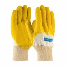 PIP® Armor® 55-3271 Economical Palm Coated Gloves, Men's, Crinkle Grip, Cotton