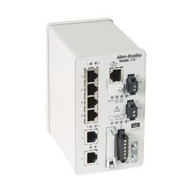 Stratix 5700 Switch, Managed, 4 Fast Ethernet and 2 Gigabit Ethernet Copper Ports, Full Software