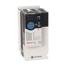 PowerFlex 525 AC Drive, with Embedded EtherNet/IP and Safety, 480 VAC, 3 Phase, 7.5 HP, 5.5 kW Normal Duty; 7.5 HP, 5.5 kW Heavy Duty, Frame C, IP20 NEMA / Open Type, No Filter