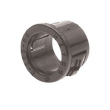 Heyco® 2479 Standard Snap Bushing, For Use With 1/4 in THK Panel, Nylon, Black