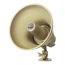 Bogen® SPT15A Paging Reentrant Horn Loudspeaker, 9 in OAW x 9-1/4 in OAH, Brown Metal Enclosure