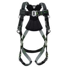 Miller® by Honeywell Revolution Harness, S/M, 400 lb, Green, DuraFlex® Strap