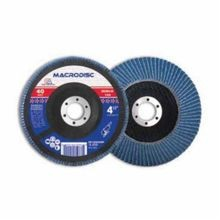 Continental® F-4530609H High Density Jumbo Standard Flap Disc, 4-1/2 in Dia, 7/8 in, 60, Zirconia Abrasive, Type 29