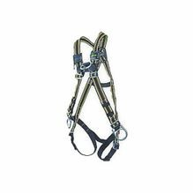 Miller® by Honeywell E552/UGN Standard Unisex Harness, L/XL, 400 lb, Green, Polyester Strap