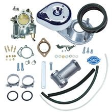 Super E Carburetor Kit for 1955-65 Big Twin Models, Standard Tanks