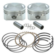 "31/2"" Bore Forged Stroker Piston Kits For Stock Heads Or S&S Performance Replacement Heads - +.010"""