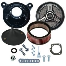 Stealth Air Cleaner Kit with Tri-Spoke for 2001-'17 bt with Delphi<sup>®</sup> EFI, Except Throttle by Wire