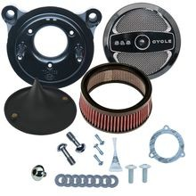 Stealth Air Cleaner Kit with Air 1 for 2008-'16 Touring and '16-'17 Softail<sup>®</sup> Models