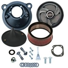 Stealth Air Cleaner Kit with Torker Cover for 2007-2017 XL Models
